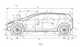 Dyson electric car patent drawing