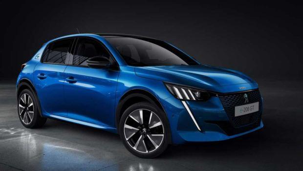Peugeot e 208 electric car