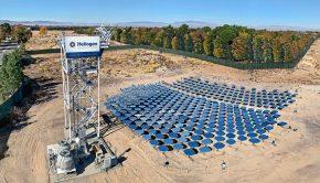 Heliogen concentrating solar array