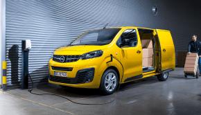 Opel Vivaro-e electric delivery van