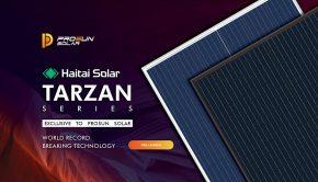 Tarzan Series Prosun solar panel