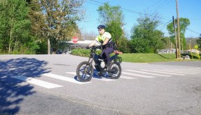 The Delfast TopCop electric bike