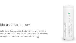 Northvolt battery recycling