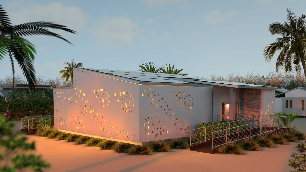 desert rose eco house by university of Wollongong students