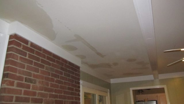 How Much Does It Cost To Fix A Ceiling Leak