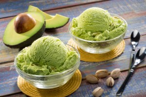 We are so used to seeing avocados used in savoury recipes, but their creamy, buttery texture and neutral flavour lends itself perfectly to desserts. Try using avocado puree as a substitute for cream and butter to make your favourite desserts vegan! Bonus: avocado puree holds its shape for rich desserts like puddings, ice creams and shakes!