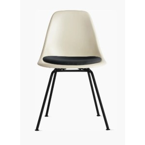 Eames White Molded Plastic Chair