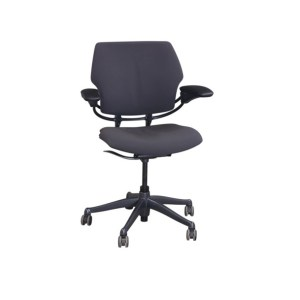 Humanscale Freedom Used Mid Back Task Chair, Pewter