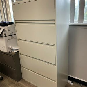 5 Drawer Steelcase 900 Series Lateral File