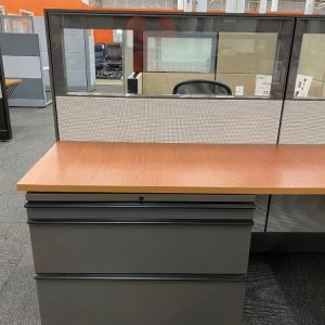 Certified Pre-Owned Herman Miller Ethospace Workstation (6'D X 8'W X 54″H)