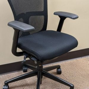 Haworth Zody Conference Chair (Black)
