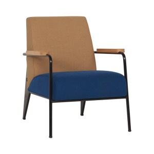 Vitra Fauteuil De Salon Chair – Brown/Navy