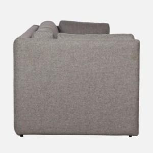 Hay Hackney 3 Seater Sofa-Grey