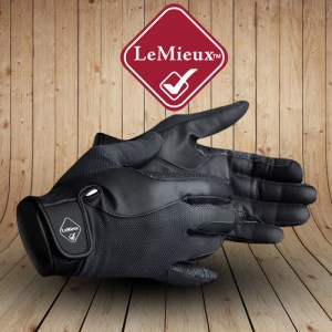 Pro Touch Performance Black Riding Gloves