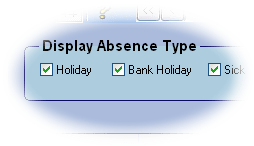 Focus absence types closeup