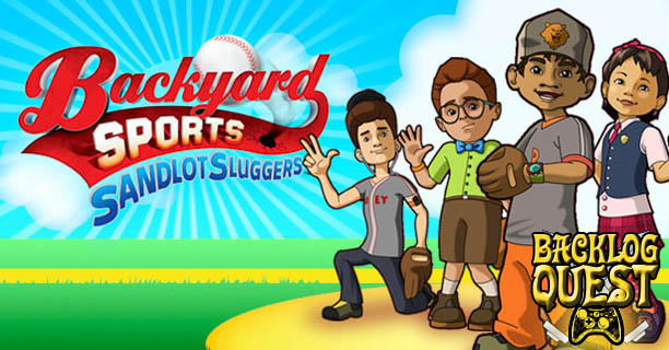 Beau Backlog Quest: Day 19 U2013 Backyard Sports: Sandlot Sluggers U2013 Bob Uecker Not  Included