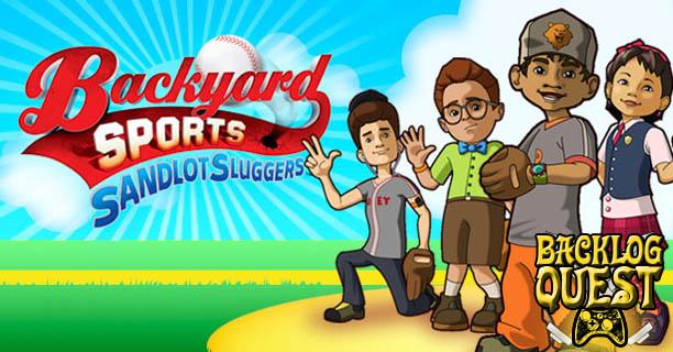 Bon Backlog Quest: Day 19 U2013 Backyard Sports: Sandlot Sluggers U2013 Bob Uecker Not  Included