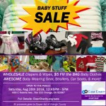 Baby Stuff Moving Sale!  Aug 2018