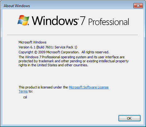 how to find what version of windows on your computer