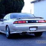 97 98 Nissan S14 240sx Silvia Super Led Tail Lights