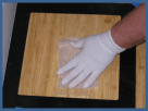 Dust wipe samples will be taken to determine the presence of lead dust.