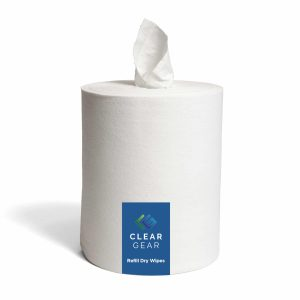 Clear Gear Refill Dry Wipes
