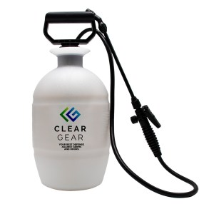 1 Gallon Sprayer for Clear Gear Disinfectant Spray