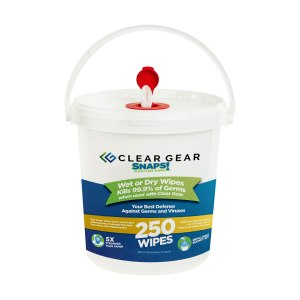Clear Gear 250 count wipes
