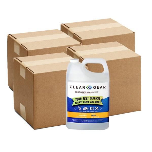 Clear Gear Gallon Case of 4 Bundle