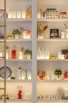 very neat pantry like organized people