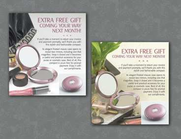 Direct marketing inserts-photography and design