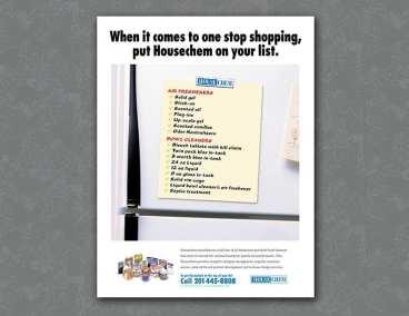 Housechem ad