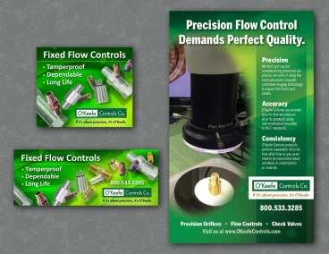 O'Keefe Controls Ad, Flow Control Magazine