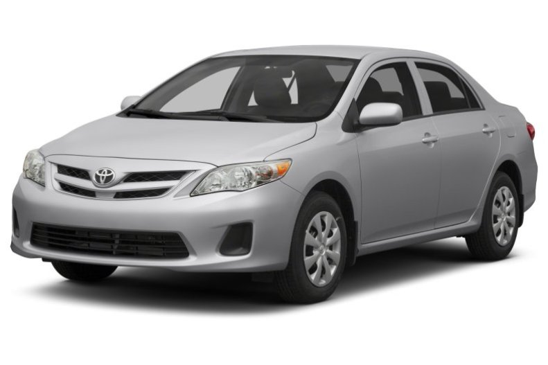 Cost of clearing Toyota Corolla