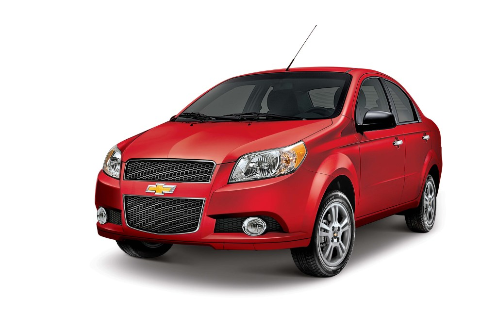Cost of Clearing Chevrolet Aveo Cars