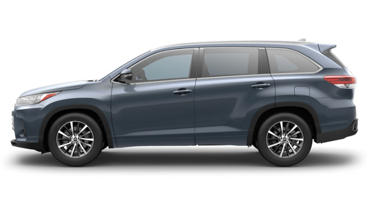 2018 Toyota Highlander side