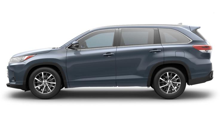 2018 Toyota Highlander side