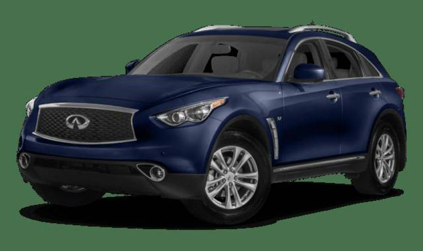 cost of clearing Infiniti QX 70 cars