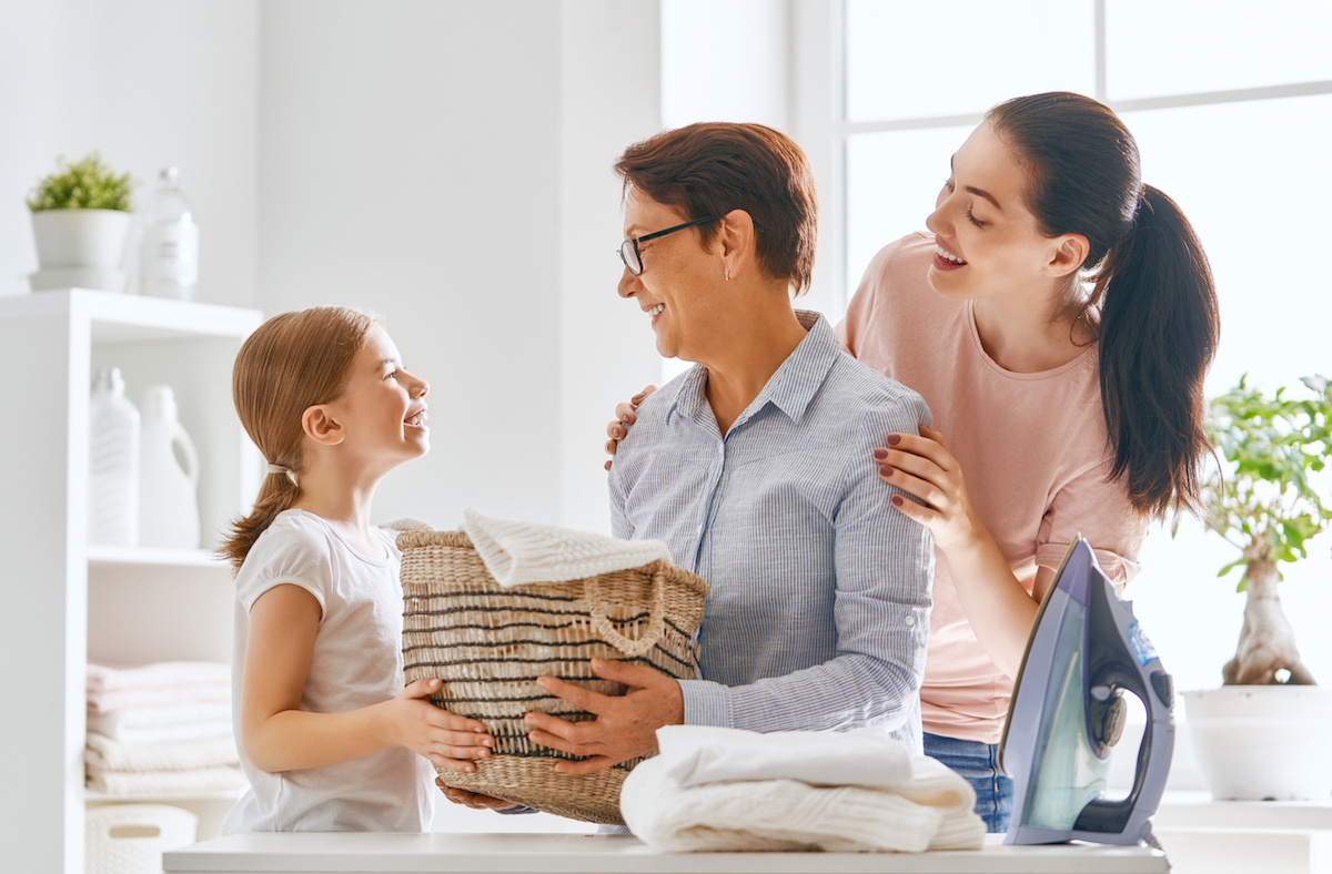 parent with purpose for happy kids and family