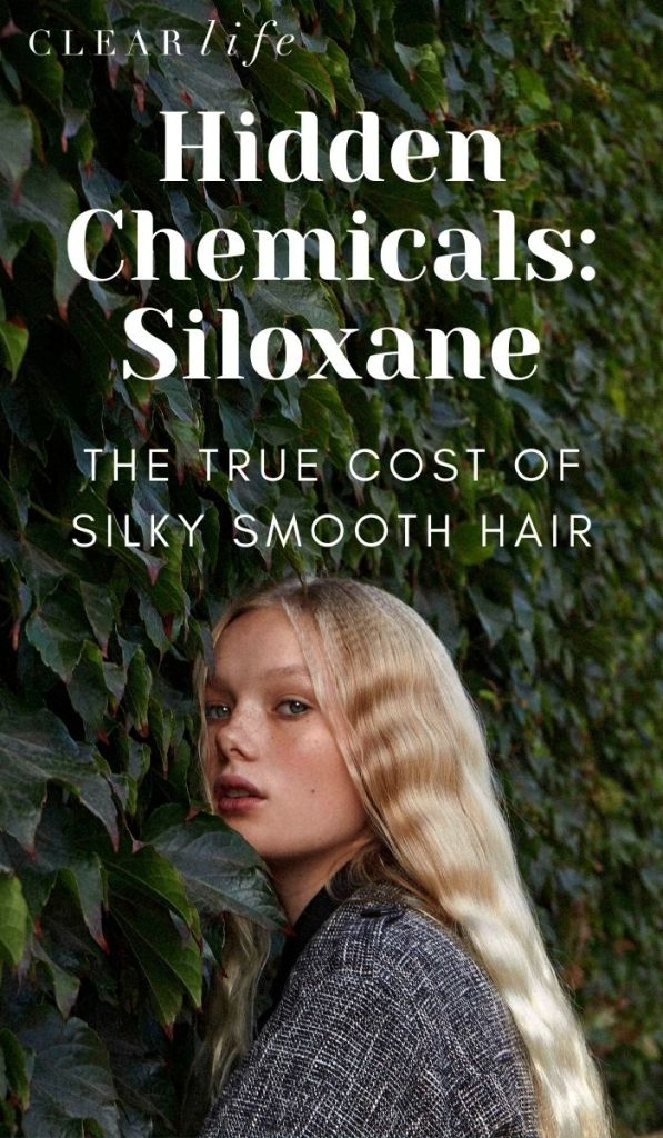 Avoid Siloxane in Your Hair Products