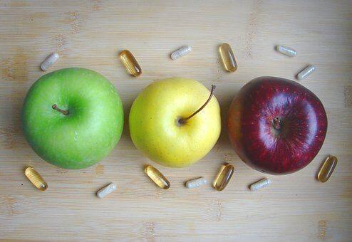 3つのりんご