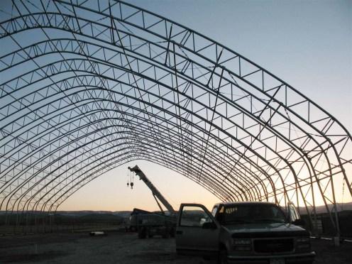 Fabric Building Frame