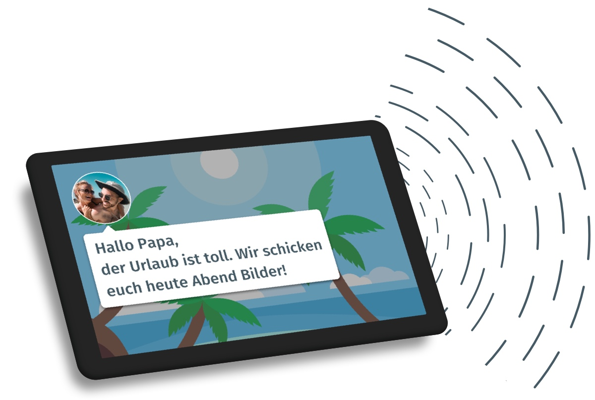 clearTime Pflege. Auf Android und Assistent.
