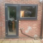Upvc double glazed Anthracite Grey windows fitted in Brentwood Essex