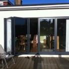 Smart aluminium bi-folding door fitted Romford essex