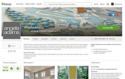 houzz create a profile clearwater branding