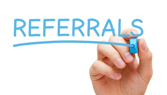 client referrals clearwater branding