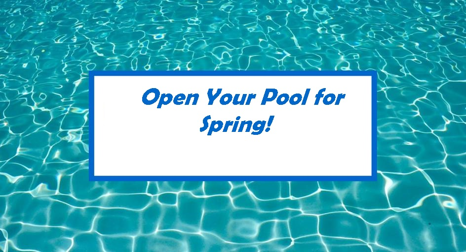 You can very easily adjust the ease with which you open your garage door by adjusting the tension on the garage door op. Open Your Pool For Spring Clearwater Pool Spa