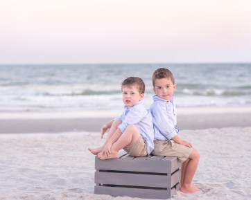 Clearwater beach family photography