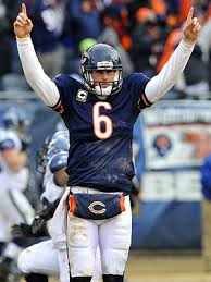 Bears starting quarterback Jay Cutler.